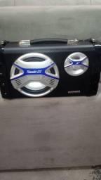 Vendo caixaa de som Mondial original zera vem com microfone.