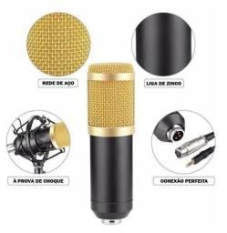 Microfone profissional condensador bm-800