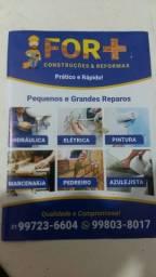 AZULEJISTA E REFORMAS. R $ 0,99