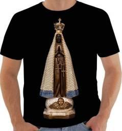 Camisa Camiseta Nossa Senhora de Aparecida Católica