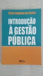 Livro Introdução à Gestão Pública