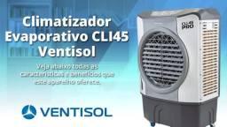 Climatizador Evaporativo Ventisol 45 Litros CLI45 PRO 220v