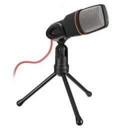 Título do anúncio: Microfone de Mesa Condensador P2 Andowl Q-888