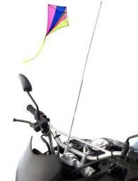 Antena corta pipas para moto