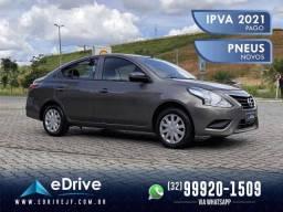 Nissan Versa 1.0 Flex 4p Mec. - IPVA 2021 Pago - Carro com Ótimo Espaço Interno - 2019