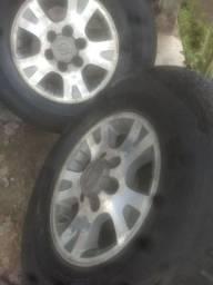 Jogo de rodas aro 16 de caminhonete