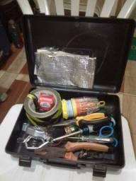 Maleta de ferramentas + ferramentas