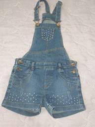 Jardineira jeans R$ 20