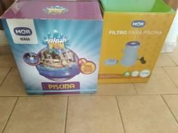 Piscina MOR 3.400 litros + Filtro e demais acessórios