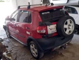 Sucata de VW Crossfox 1.6 2010 para retirada de peças