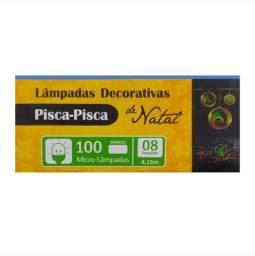 Título do anúncio: Pisca natal 100 micro lâmpadas branca 8 funções 110v