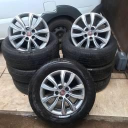 Rodas e pneus Toro