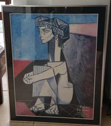 Quadro de gravura Picasso