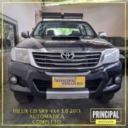 Toyota Hilux Cd SRV 4X4 3.0 2013 Automatica Completo