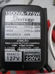 Autotransformador Demape 1500VA 975w