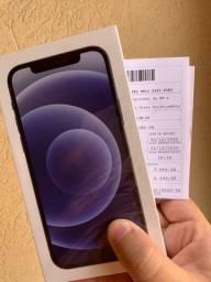 iPhone 12 64gb Preto - Lacrado com nota fiscal