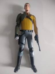 Star Wars Boneco Kanan Jarrus Rebelião Ep. 7 Action Fig 15cm