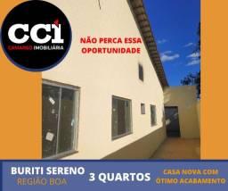 Casa 3Qts Buriti Sereno