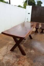 Mesa de madeira valor 2100