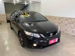 Honda Civic LXR Automatico + Couro + Gnv, impecavel 2016