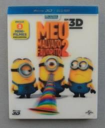 Blu-ray Meu Malvado Favorito 2 (3D/2D) Luva 2 Discos