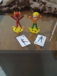 Trocamos Flash e Aquaman - Kinder Joy