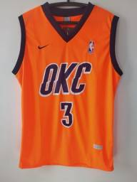 Regata NBA Oklahoma Laranja