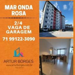 Oportunidade-Residencial Mar Onda Rosas - 2 Quartos, suíte em Buraquinho-Espetacular!