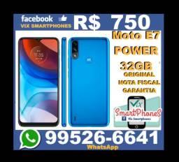 Lançamento Moto E7 Power 32GB
