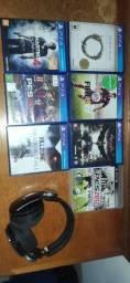 Jogos PS4 - Killzone, Uncharted, Fifa, Pes, batman