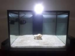 Aquario marinho 120 litros novo