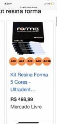 Kit resinas forma- ultradent