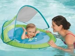 Boia Bebê Piscina Infantil Inflável Cobertura Fator Uv 50+