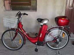 Bike elétrica.