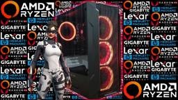 PC Gamer Ryzen 5 2400G + RX Vega 11 | Novo c/ Garantia!