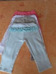 Lote de calças infantis carters R$ 15,00