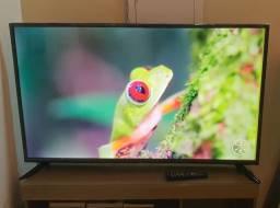 Tv COBIA de 50 polegadas smart 4K