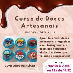 CURSO DE DOCES ARTESANAIS