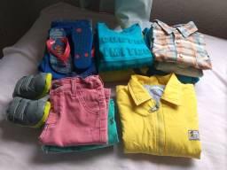 Lote roupa infantil