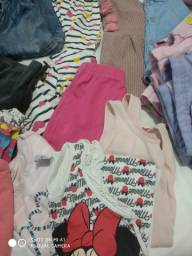 Lote de roupas menina 12 a 24 meses