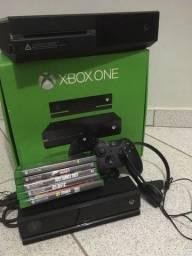 Xbox One + Kinect + Controle + jogos fisicos + Headset Original tudo em perfeito estado