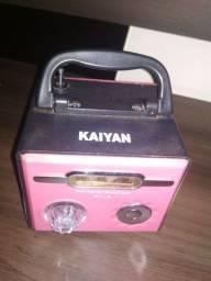 Caixinha de som, marca KAYAN Usb e p2