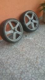 Rodas aro 20 4x108 (sem pneus)