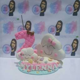 Lembrancinhas e topos de bolo em BISCUIT!!