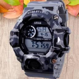 Relógio de Pulso Masculino Digital esportivo Xinjia xj gshock lançamento