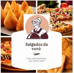 Melhor salgados e pizzas do Estado de Goiás, salgados fritos, assado e congelados