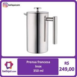 Título do anúncio: Cafeteira Prença Francesa Aço Inox | 350Ml