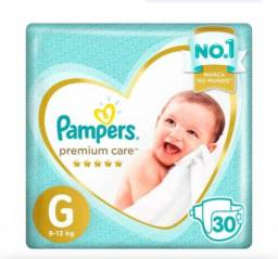 FRALDA PAMPERS PREMIUM CARE G