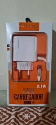Carregador de celular 5.1 com 3 entradas USB