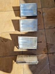 Refletores de alumínio